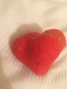 Heart throb bubble bar