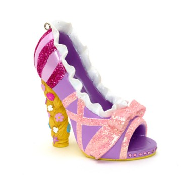 rapunzel shoe ornament